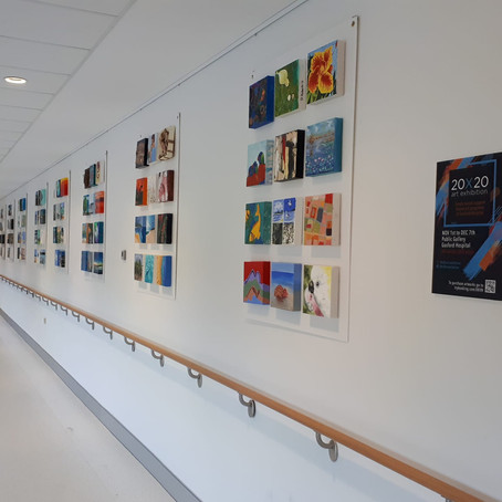 What's happening at the Hospital Gallery? And What goes on Behind the Scenes?