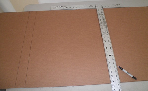 Sizing Cardboard Wrap to Artwork
