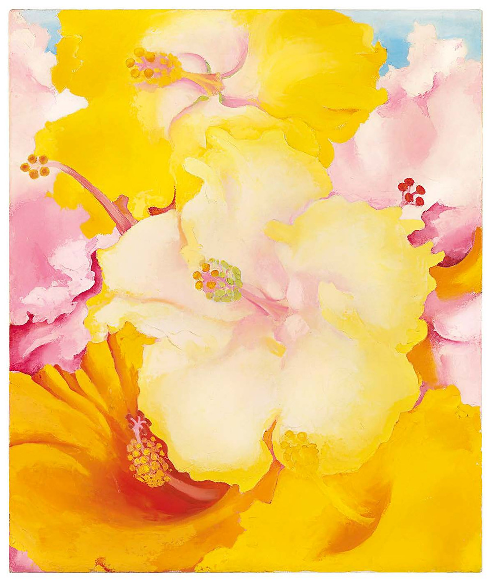 Georgia  O'Keeffe,  Hibiscus,