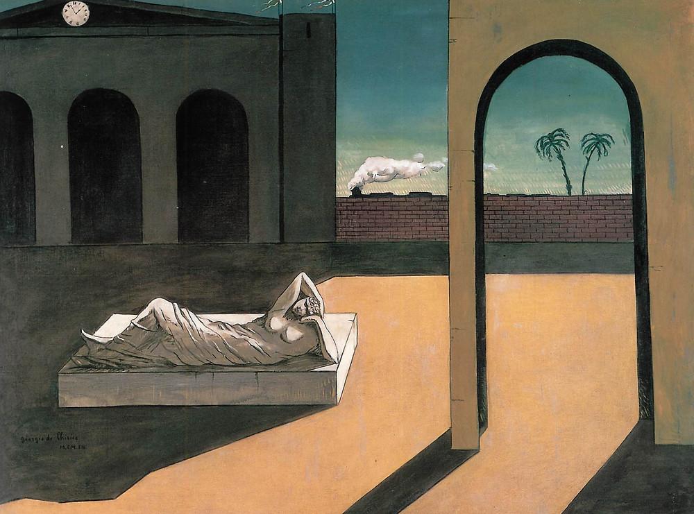 Giorgio de Chirico -The Myth of Ariadne