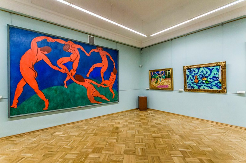 A familiar work by Matisse