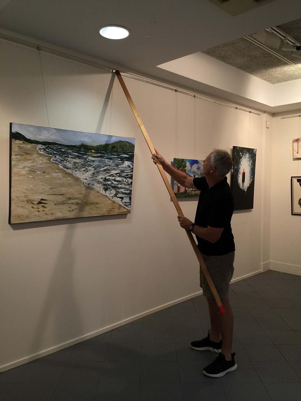 Bump in, exhibition , regional gallery,community gallery