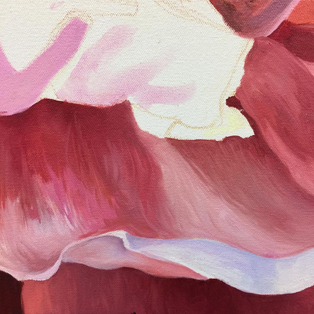 Spring Dancer - My Latest Painting Has Arrived