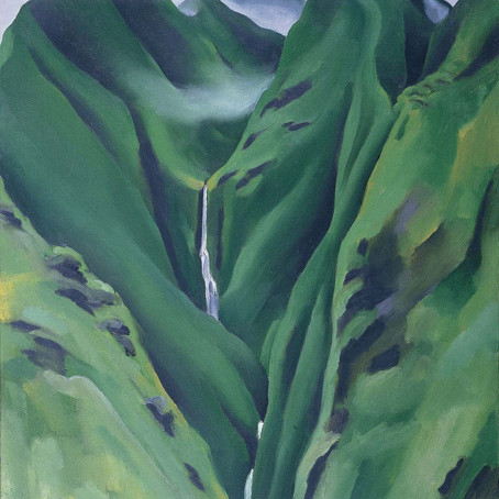 Lost O'keeffe Painting Surfaces