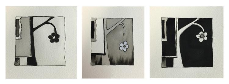 tonal studies,black and white,kadira jennings