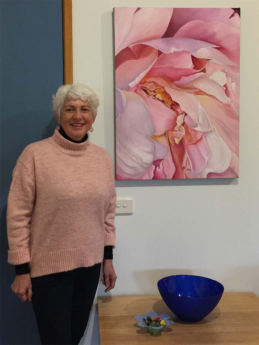 Joy oil on canvas by Kadira Jennings