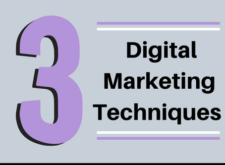 Top 3 Digital Marketing Techniques that ACTUALLY WORK