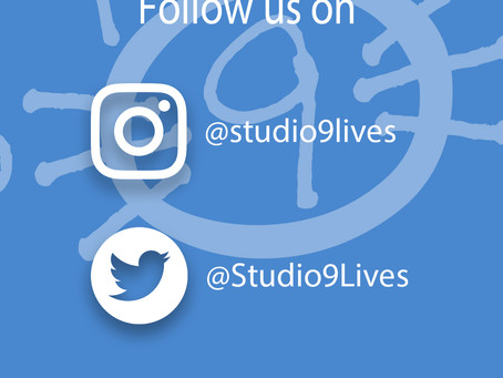 You can now follow us on Twitter and Instagram!