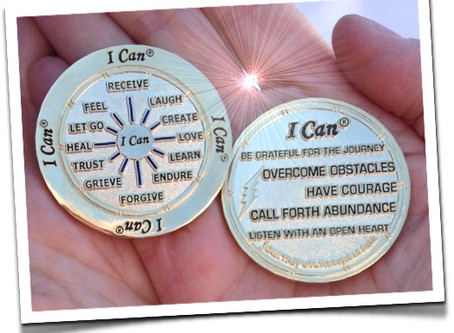 The I Can Coin is a beautiful gift of Hope
