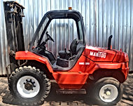 Rough Terrain Forklift Rental