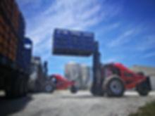 Dirker Poultry Forklift Loading At Eastern Cape
