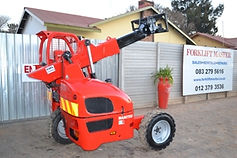Manitou Truck Mounted Forklift Rebuild From Forklift Master