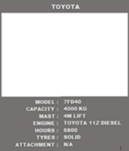 Toyota 7 Series For Sale Specifications
