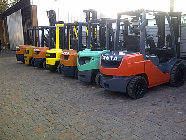 Refurbished Forklifts From Forklift Master