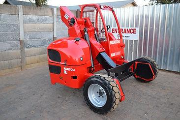 Manitou Truck Mounted Forklift Rebuilded By Forklift Master
