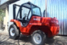 3Ton Rough Terrain Forklift Ready For Rental