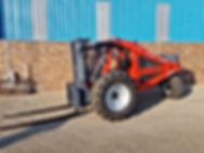 All Terrain Forklift For Poultry Handling