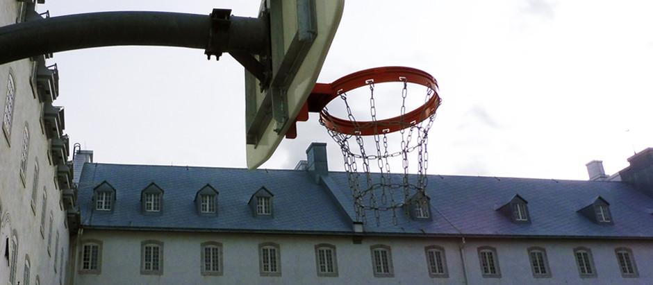 Fabrication & installation d'équipement de basketball, Québec.
