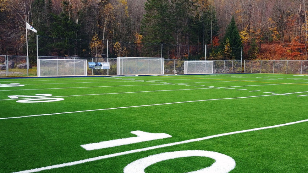 Fabrication et installation de buts de soccer de grandeurs standard (junior et senior)