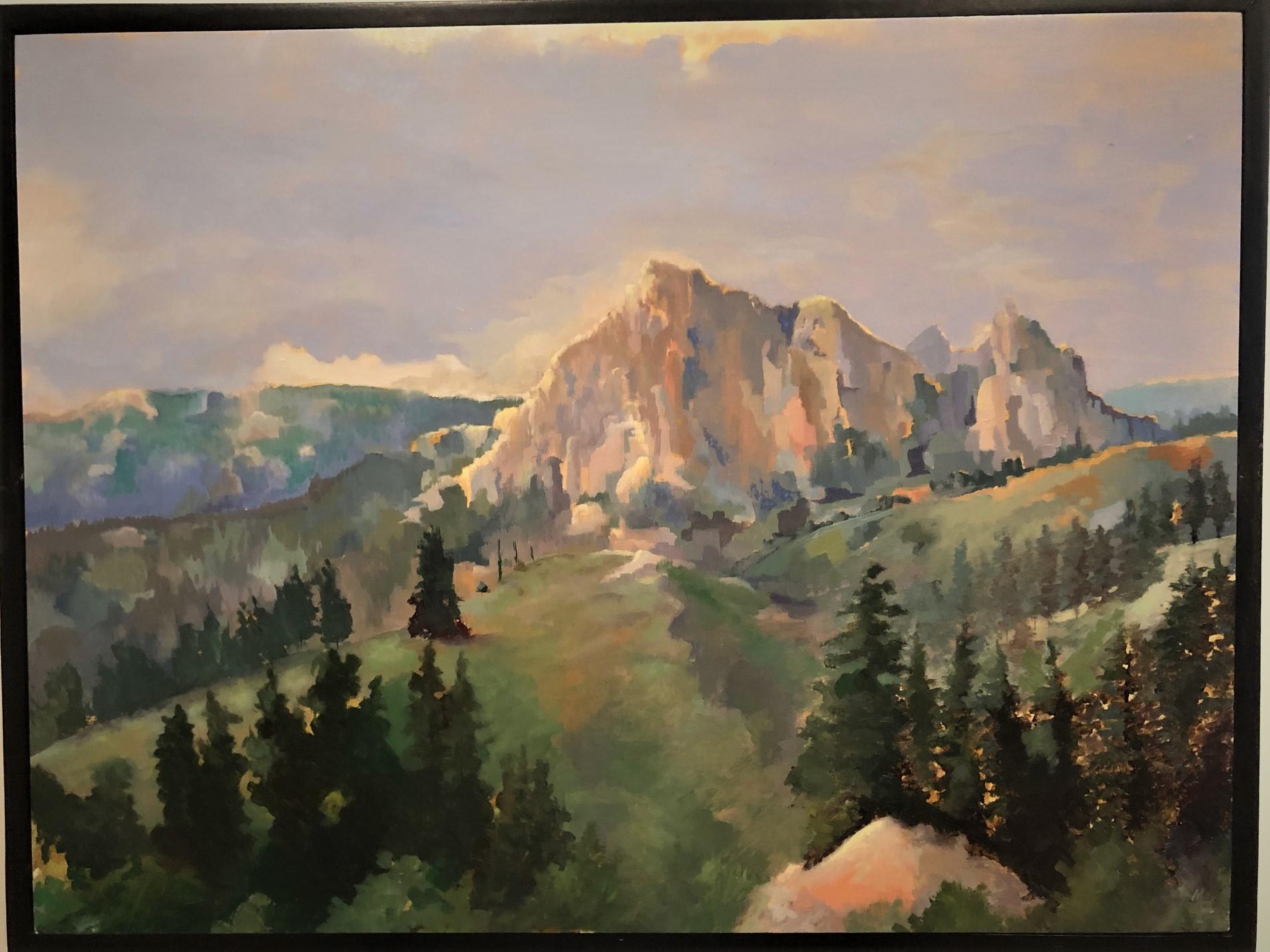 Gore Range Colorado $ 425 Framed