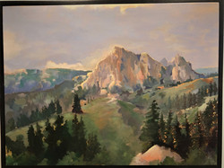 Gore Range Colorado $ 525 Framed