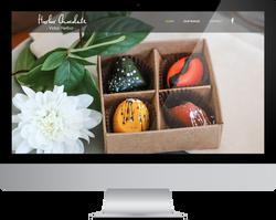 Harbor Chocolate website