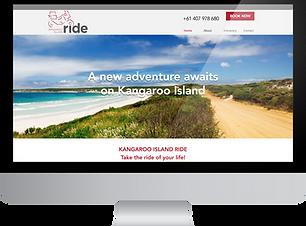 KI Ride website