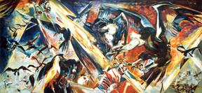 Do. Bold, 9/11, oil on canvas