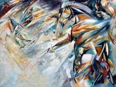 Do. Bold, Indomitable1, oil on canvas
