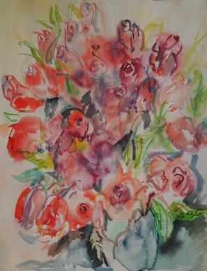 Birthday Roses1, 2019
