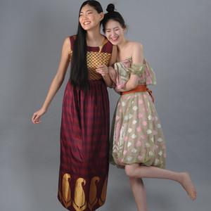 Indian silk dresses