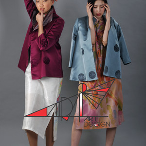 Classic and stylish silk jackets