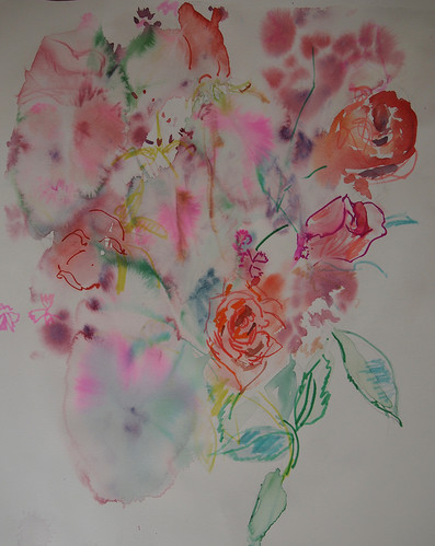 Flowers from my artist friends