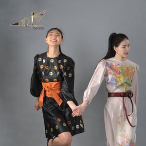Peasant sleeve dresses