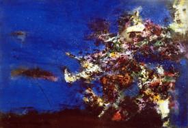 Ya. Oyunchimeg, Composition, oil on canvas