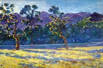 Ya. Oyunchimeg, Etude, oil on canvas