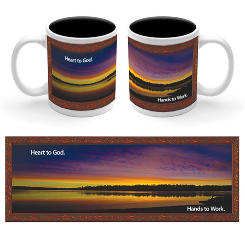 M010C   Hands Ceramic Mug