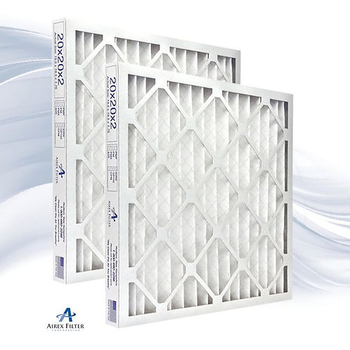 20x20x2 Pleated Air Filter MERV 8 - Highest Quality - 6 Pack