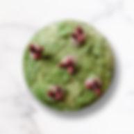 Dessert aux haricots rouges Matcha