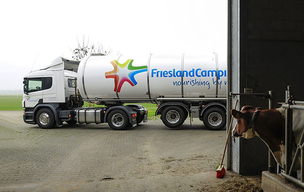 Milk-truck-at-a-farm-FrieslandCampina-19