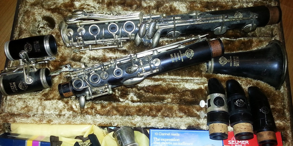 Clarinette SELMER Système MARCHI