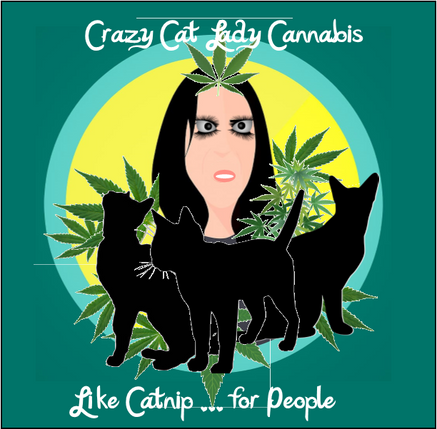 Crazy Cat Lady logo interpretation