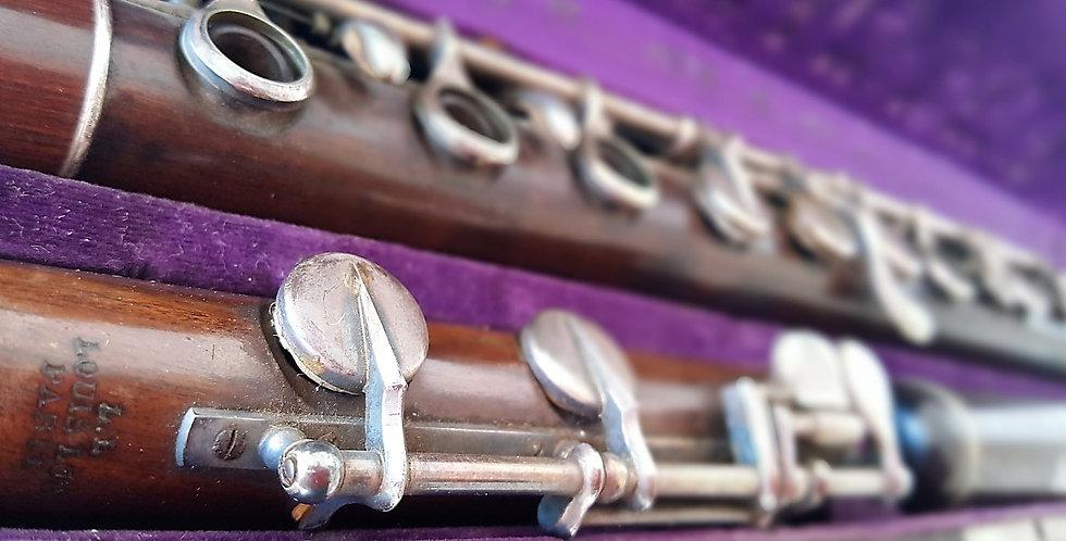 Flûte conique de Louis Lot en bois # 4643