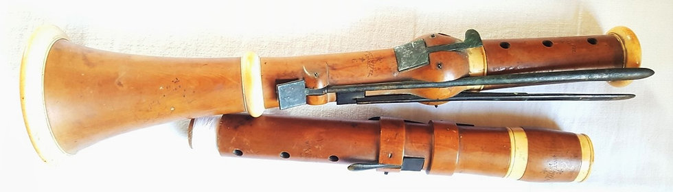 Jean Daniel Holtzapffel  Clarinette Clarinet Woodwind