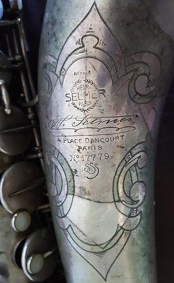 Saxophone ténor Selmer de 1933 Cigar Cutter Super Sax