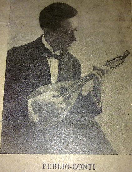 Mandoline de concert de Luigi Embergher No 6 de 1925