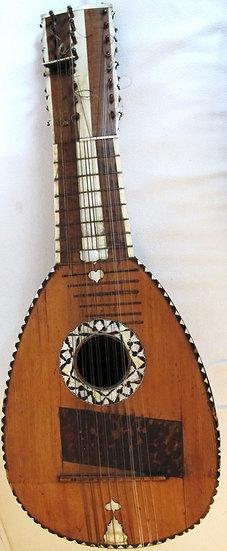Mandolone ou Mandoline Basse