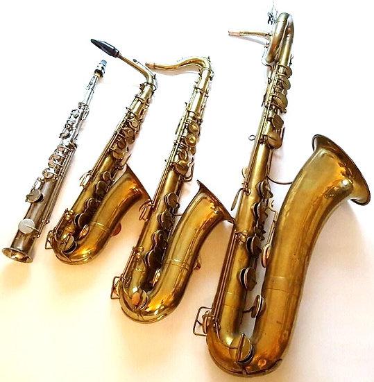 Quatuor de Saxophones Adolphe Sax Inventeur du Saxophone