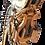 Thumbnail: HARPE en bois sculpté doré signé Lepine à Paris