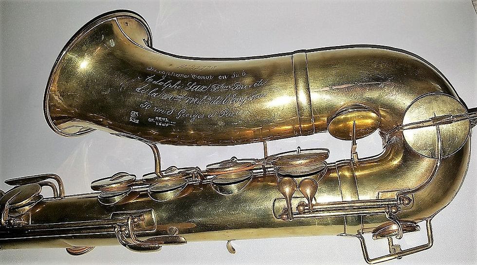 Saxophone Ténor Adolphe Sax